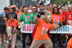 Aids walk in Miami FL