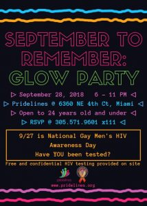 September to remember flyer