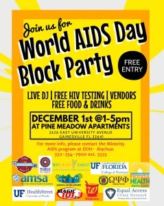 World AIDS Day Block Party